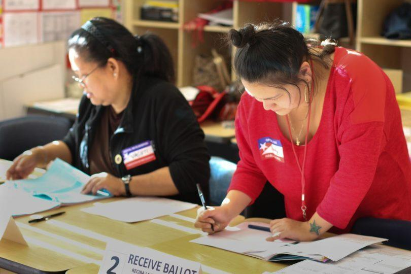 Poll workers making a difference
